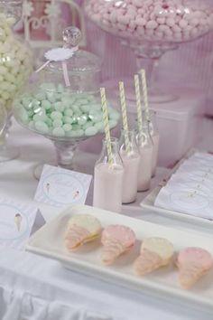Sobrinha com o mostess ® - Ice Cream-Party