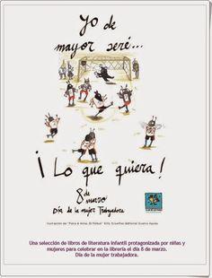 """Para celebrar el """"Día de la mujer trabajadora"""", el Club Kiriko (De la Confederación Española de Gremios y Asociaciones de Libreros) publica estas guías de lectura, con centro en la mujer, como escritora y como protagonista, para niños y jóvenes con distintas temáticas y para edades desde la primera infancia hasta la juventud."""