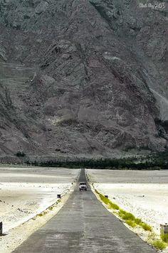 The cold desert of Shigar Pakistan