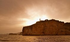 Cabo de La Nao, al atardecer.  Sunset at Cape La Nao  Javea Spain