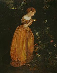 Annie Louisa Robinson Swynnerton - Glow Worm (c. 1900)
