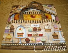 Bolsa porta tarta