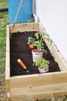 On the cheap. I will admit, I was a little amazed at how little effort and supply was needed to build this planter. Our finished box is 1' high, 2' deep and 8' long, and forgive me if I'm not detai...