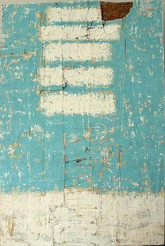 bars on 6033  by CHRISTIAN HETZEL | 120 x 80 cm - mixed media on used wooden board 2013 http://www.hetart.com/