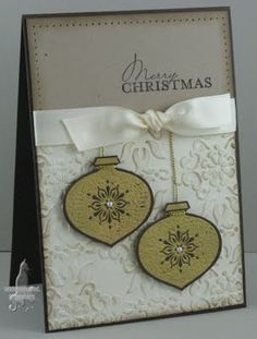 Christmas card idea #Stampin' Up!