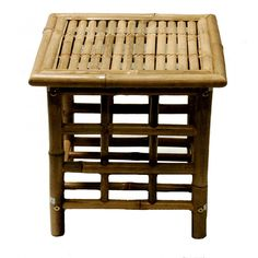 Bamboo54 Bamboo Square End Table - 5451