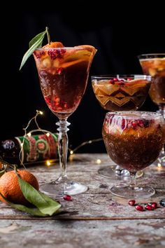 Christmas Ale Sangria - Just take a beer, mix it with fruit, a little apple cider, a little vodka, and a few dashes of orange bitters. @halfbakedharvest.com Ale Recipe, Cocktail Recipes, Cocktails, Drink Recipes, Christmas Ale, Xmas, Sangria Drink, Chocolate Martini, Non Alcoholic Drinks