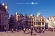 Grand Place, Bruxelas-Bélgica (Brussels, Belgium)
