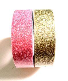 Gold Glitter Tape. $3.95, via Etsy.