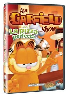 Diseño publicitario de DVD's - Stop Diseño Gráfico - Diseño de La pizza perfecta - El shoe de Garfield - Mediatoons.