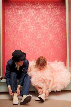 コンバース(CONVERSE) ドレス(Dress):04-5917 / タキシード(Tuxedo):12-4087