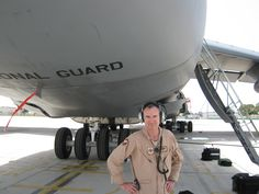 From my last deployment, in 2012. In front of a C-5 Galaxy.