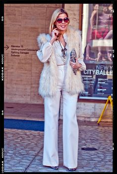 Is this look 70s chic...or stuck in a time warp?