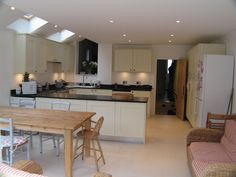 ...or to break up the space with a u-shaped kitchen?