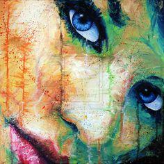 painting of woman  #portrait