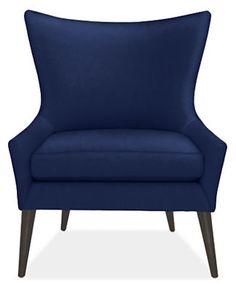 Lola Custom Chair - Modern Accent & Lounge Custom Chairs - Modern Custom Furniture - Room & Board