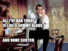 Quotes from Archer the cartoon on pictures of James Bond (26 Photos)