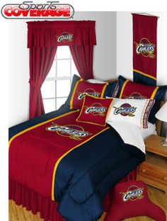 This Cleveland Cavaliers themed bedding set will set your room apart. Perfect gift for your kids or grandkids. What are you waiting for?