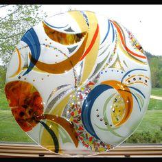 Fused Glass Art, Architectural Sculptures - Bonnie Rubinstein Studio…