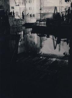 "Paul Ronald ""Tournage de ""Nuits blanches,"" 1957"