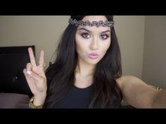 Coachella/Music Festival Makeup - YouTube