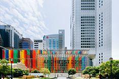 DP architects anchors archifest around technicolor pavilion