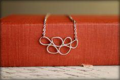 Pressed Leaves Necklace Available in Matte от saffronandsaege