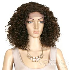 Outre Synthetic Swiss X Lace Front Wig - VALENTINA (4X4 Pre-Plucked Swiss Lace Part) - WigTypes.com