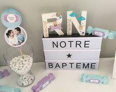 Double Nom Star et papillon CROSS plume anniversaire//Baptême Topper