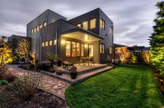 Northwest Contemporary Home in West Seattle's Admiral District  #contemporary #architecture