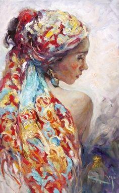 José Royo (born 1941, Spain) - The headscarf