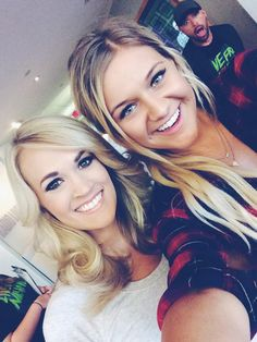 Carrie and Kelsea B.