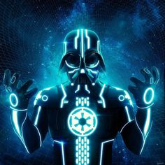 TRON WARS: Tron vs Star Wars, Excellent MashUp. Everything that is good.