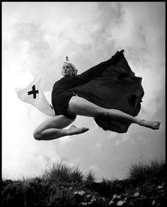 Philippe Halsman - Mademoiselle Lambert, France, … from Unknown Halsman. Edited by Oliver Halsman Rosenberg, D. / Distributed Art Publishers, Inc. Popular Photography, Photography Awards, Dance Photography, Artistic Photography, White Photography, Motion Photography, Vintage Photography, Magnum Photos, Salvador Dali