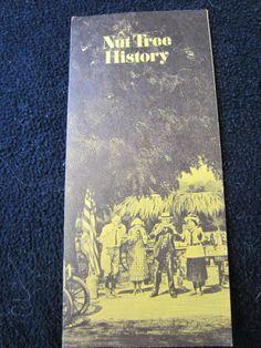 NUT Tree Vintage 1970s Brochure RESTAURANT by kookykitsch on Etsy, $9.00