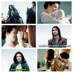 The Musketeers - 1x06 - The Exiles, Awww (was I the only one thinking 'let D'Artagnan help you make one of your own!'? lol)