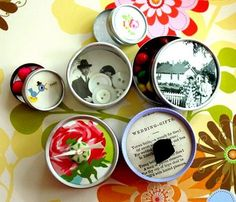 ideas for dressing up round tins