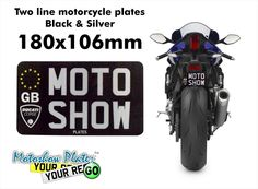http://www.motoshowplates.com/platebuilder?size=black_and_silver_180x106mm