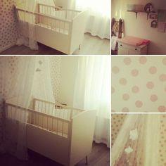 Baby's room  Vintage pink