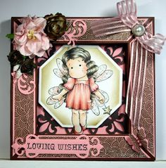 Rica's Haven: Card & Shadow box Tutorial