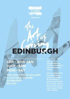 EDINBURGH: Whitespace Gallery: The Art of Giving 19 -30th Jan