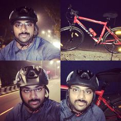 """""""I don't ride a bike to add days to my life. I ride a bike to add life to my days""""  After a long gap  Riding in ECR. Fitness time 😜  #cycling #montra #ecr #ezoneINDIA #events #fitness #fun"""