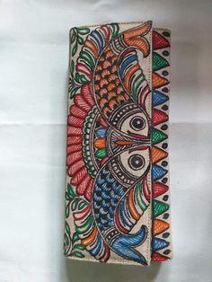 Saree Painting, Kerala Mural Painting, Indian Art Paintings, Fabric Painting, Madhubani Art, Madhubani Painting, New Rangoli Designs, Indian Folk Art, Painted Clothes