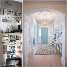 10 Chic Ways to Decorate Your Entryway Wall a