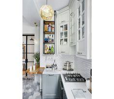 """Интерьер кухни 9 кв. м """"плюс"""": варианты планировки от дизайнеров"""