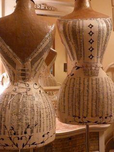Vintage Inspired Wasp Waist Mannequin Dress Form