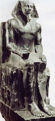 Kefren in Egyptian Museum, Cairo