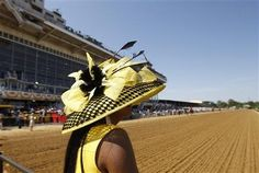 Loved Mayor Rawlings-Blake's Preakness hat!!