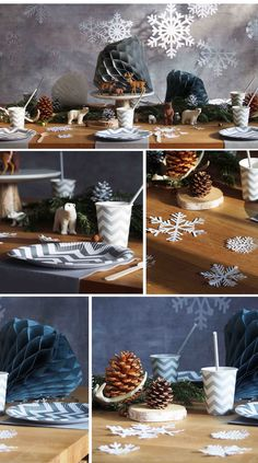 Table d'anniversaire sur le thème reine des neiges version revisitée. #frozen #reinedesneiges #cake #kids #anniversaire #enfants #birthday #deco #fete #fiesta #hiver #flocons www.rosecaramelle.fr