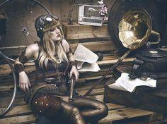 this girl by Rebeca Saray Costume Steampunk, Gothic Steampunk, Steampunk Fashion, Steam Girl, Steam Punk, Girls Twitter, Circus Costume, Alternate History, Dieselpunk